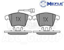 Meyle Set Pastiglie dei Freni, asse anteriore con piastra anti-Squeak 025 237 4619/W