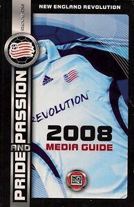 2008 New England Revolution Major League Soccer Media Guide - MLS