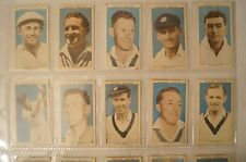 """Cricket Collectable - 1948 Nabisco """"Leading Cricketers"""" Complete Vintage Set."""