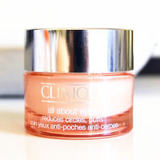 New Clinique All About Eyes Reduces Circles Puffs 0.5 oz/15 ml Full Size