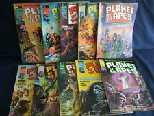 Planet of the Apes Magazine Lot #1-#10 1974 with Bag & Board
