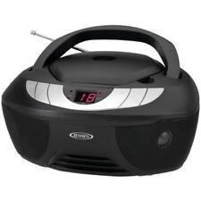 Jensen CD-475 Portable Stereo CD Player With AM FM Radio Black
