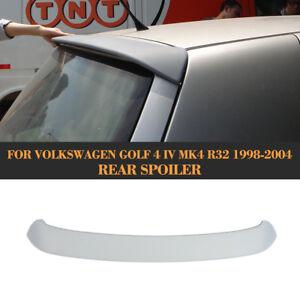 PU Dachspoiler Spoiler für VW Golf IV 4 R32 Heckflügel Ansatz Dachspoiler Grau