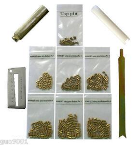 Custom Kwikset Rekey Kit Locksmith Rekeying Pins Kits bottom 50 each 4 tools Top