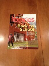 American Libraries Magazine issue Back to School September - October 2012 ALA