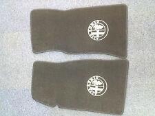 Alfa Romeo Velours Fußmatten, Autoteppich, Paßformmatten mit AR Emblem