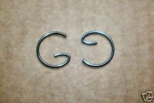 BSA BANTAM 175cc D5-B175 PISTON CIRCLIP x 2 NEW NOW HERE!  -- B305