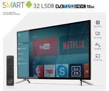 """TELESYSTEM SMART TV LED 32"""" Televisore HD T2/S CI+ WiFi SMART32 LS08 ANDROID 7.0"""