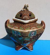Brule parfum en porcelaine de Satsuma - japon