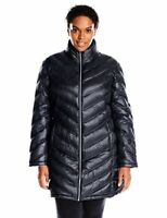 Calvin Klein Womens Outerwear Plus-SZ Chevron-Quilted- Pick SZ/Color.