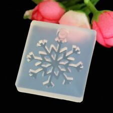 Silicone Mold Snowflake DIY Crafts Jewelry Making Pendant Epoxy Resin