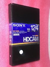 Sony HDCAM Metal Tape 124min Digital Hdvs