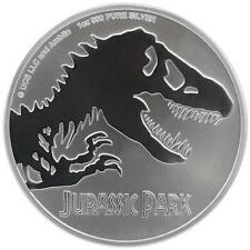 Niue - 2 Dollar 2020 - Jurassic Park™ - Premium-Anlagemünze - 1 Oz Silber ST