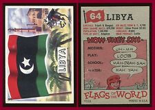 1956 Topps Flags of the World #64 Libya EX+ **AA-6575**