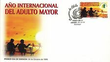 Chile 1999 FDC Año Internacional del Adulto Mayor
