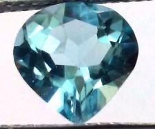 Heart Natural Blue Loose Topazes