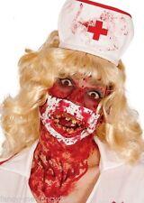 Maschere rosso per carnevale e teatro dal Perù