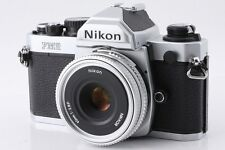 Nikon FM2 35mm SLR film Camera NIKKOR 45mm f/2.8 P Ai-S lens From Japan