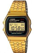 Casio A-159WGEA-1E Orologio Uomo Vintage, Crono, Illuminazione, Batt.7 anni