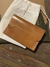 Enfold Cardholder (Natural Proper Shell; Craft & Lore)
