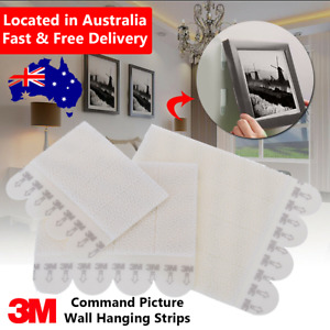 3M Command Picture Hanging Strips Adhesive SMALL MEDIUM LARGE Poster Frame Wall