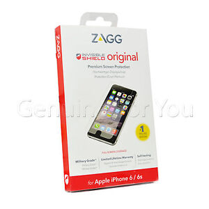 ZAGG Invisible Shield Military Grade Screen Protector iPhone 8/7/6/6S 4.7""
