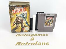 """Nintendo Entertainment System"""" Probotector II Return of the Evil Forces """"Ovp Nes"""