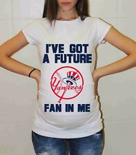 New York Yankees Shirt Pregnancy Shirt Maternity Tee Shirt Baby Shower Baseball