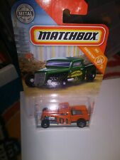 Dukes of Hazzard General Lee 35 Ford pickup custom Matchbox.  .