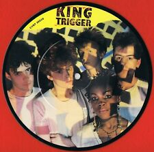 "KING TRIGGER River UK 7"" Picture Disc 1982' Ideal For Framing Big Country"