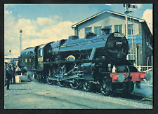 C1980s View: L.M.S. Steam Locomotive. Class SMT 4-6-0 No.4767 at Shildon