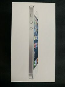 iPhone 5 64GB - White - Open Box Brand New - iOS 6 -*RARE* - COLLECTABLE!