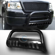BLK BULL BAR BRUSH PUSH BUMPER GRILL GRILLE GUARD FOR 04-15 NISSAN TITAN/ARMADA