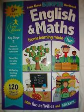 Leap Ahead Bumper Learning Book For Age 9+ English And Maths Brand New RRP £7.99