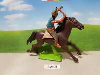 Britains Deetail Wild West Mounted Indian (lot 3269)