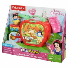 Fisher-Price Girls Little People Disney Princess Snow White's Fold 'N Go Apple
