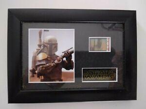 Star Wars Boba Fett 1980 35mm Film Cell Memorabilia Spotty Dog Productions
