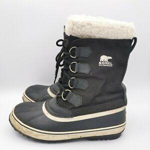 Sorel Women's Black Winter Carnival Snow Boot Waterproof - Size UK 7