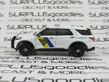 Greenlight LOOSE New Jersey State Police 2021 FORD EXPLORER Interceptor Utility