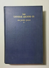 1929 Vintage Astronomy Book:  The Universe Around Us by Sir James H. Jeans
