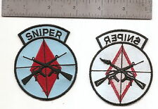 #218 US ARMY 5TH INFANTRY DIVISION SNIPER PATCH