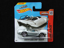 Fast & Furious Corvette Grand Sport Roadster Hot Wheels Hw Race menta en tarjeta Mib
