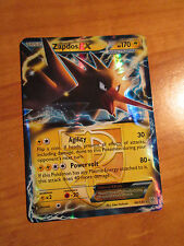 PL ZAPDOS EX Pokemon Card PLASMA STORM Set 48/135 BW Black&White Ultra Rare BW
