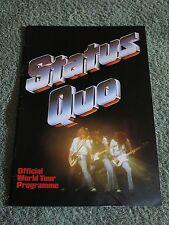 STATUS QUO 1979/80 World Tour Programme!