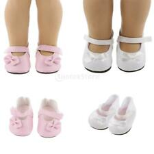 Trendy Doll Rubber Shoes for AG American Doll 18inch Doll Party Clothes Accs