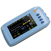 "Portable Medical Patient Monitor 5.1"" ICU Vital Signs ECG,RESP,SpO2,PR,NIBP,TEMP"