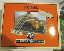 Lionel O Scale 264 Operating Forklift Platform 6-14000 New In Box