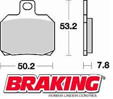 BRAKING PASTIGLIE ANTERIORI DERBI GP1 RACING LOW SEAT 250 2007 BRAKE PADS FRONT
