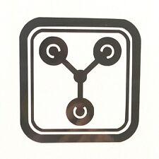Flux Capacitor Symbol Vinyl Decal Sticker