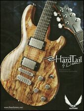 The Dean USA Exotic Top Hardtail electric guitar ad 8 x 11 advertisment